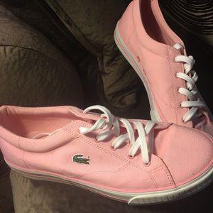 Lacoste Ziane Sneaker is a summer style,in pink